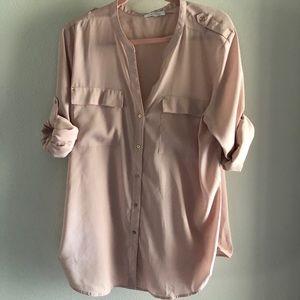 Calvin Klein Woman's button up shirt - XL